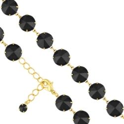 Bransoletka czeska z kryształami - BRA968