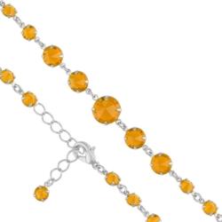Bransoletka czeska z kryształami - BRA971