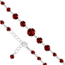 Bransoletka czeska z kryształami - BRA978