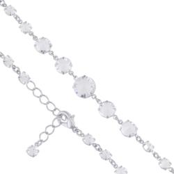 Bransoletka czeska z kryształami - BRA980