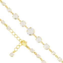Bransoletka czeska z kryształami - BRA981