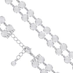 Bransoletka czeska z kryształami - BRA1005