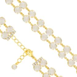 Bransoletka czeska z kryształami - BRA1006