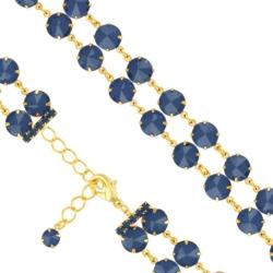 Bransoletka czeska z kryształami - BRA1009