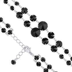 Bransoletka czeska z kryształami - BRA1016