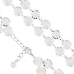 Bransoletka czeska z kryształami - BRA1023
