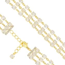 Bransoletka czeska z kryształami - BRA1025