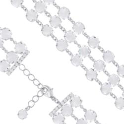 Bransoletka czeska z kryształami - BRA1028