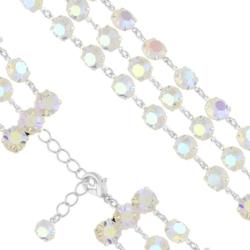 Bransoletka czeska z kryształami - BRA1032