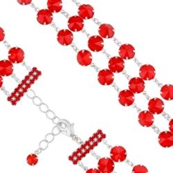 Bransoletka czeska z kryształami - BRA1033
