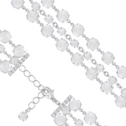 Bransoletka czeska z kryształami - BRA1043