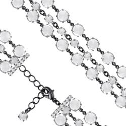Bransoletka czeska z kryształami - BRA1045