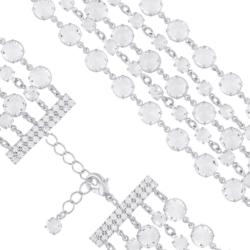 Bransoletka czeska z kryształami - BRA1053