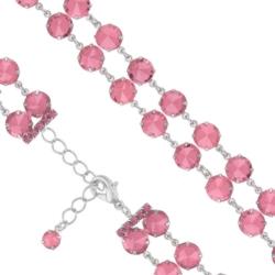 Bransoletka czeska z kryształami - BRA998