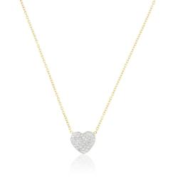 Celebrytka pozłacana - serce - Xuping - CP1693