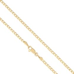 Łańcuszek pozłacany - pancerka - Xuping LAP1355