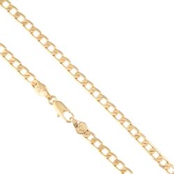 Łańcuszek pozłacany - pancerka - Xuping LAP1357