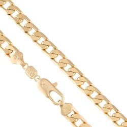 Łańcuszek pozłacany - pancerka - Xuping LAP1360