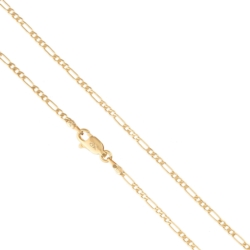 Łańcuszek pozłacany - figaro - Xuping LAP1361