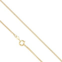 Łańcuszek pozłacany - kostka - Xuping LAP1363