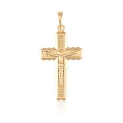 Krzyżyk pozłacany - 4,2cm - Xuping PRZ1870