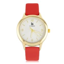 Zegarek damski - czerwony - Z616