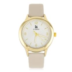 Zegarek damski - beżowy - Z617