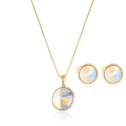 Komplet z kryształkami Swarovski - Xuping - PK421