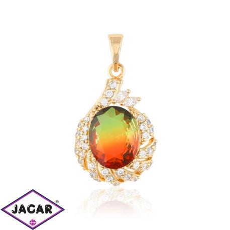 Przywieszka z kolorowym kryształem- Xuping PRZ1894