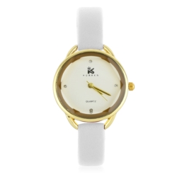 Zegarek damski - biały - Z628