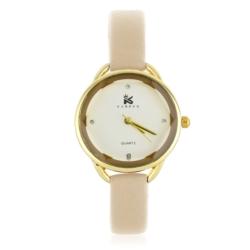 Zegarek damski - beż - Z630