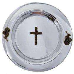 Miseczka na wodę święconą - srebrna