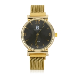 Zegarek damski- bransoleta magnetyczna złota Z646
