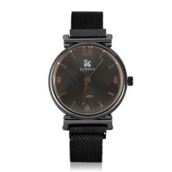 Zegarek damski- bransoleta magnetyczna czarna Z647