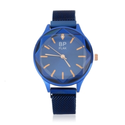 Zegarek damski- bransoleta magnet. niebieska Z648