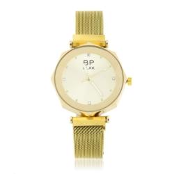 Zegarek damski- bransoleta magnetyczna złota Z651
