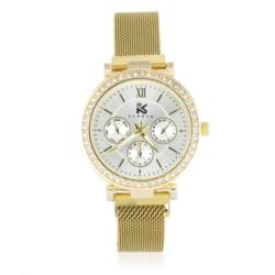 Zegarek damski- bransoleta magnetyczna złota Z653