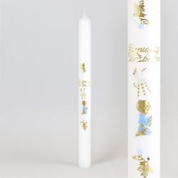 Świeca - Pamiątka Chrztu Św. - dł:40cm - SG81