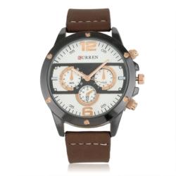 Zegarek męski - brązowy - Z656