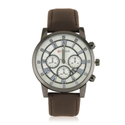 Zegarek męski - brązowy - Z662