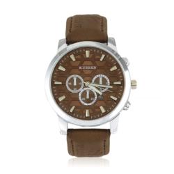 Zegarek męski - brązowy - Z668