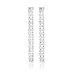 Kolczyki czeskie z kryształkami - 53/91 - EA2054