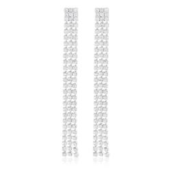 Kolczyki czeskie z kryształkami - 53/115 - EA2063