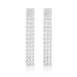 Kolczyki czeskie z kryształkami - 53/114 - EA2079