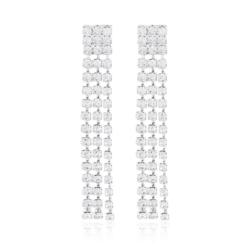 Kolczyki czeskie z kryształkami - 53/114 - EA2080