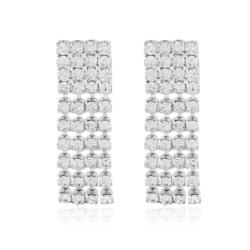 Kolczyki czeskie z kryształkami - 53/116 - EA2082