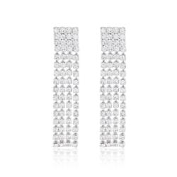 Kolczyki czeskie z kryształkami - 53/117 - EA2083