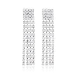 Kolczyki czeskie z kryształkami - 53/117 - EA2084