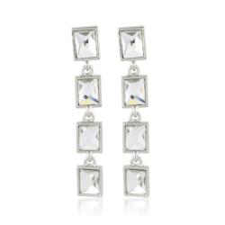 Kolczyki wiszące z kryształkami - EA2132