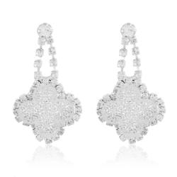 Kolczyki wiszące z kryształkami - EA2136